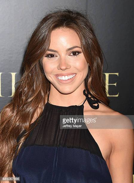 Actress Courtney Turk attends the premiere of Paramount Pictures' 'Silence' at the Directors Guild Of America on January 5 2017 in Los Angeles...