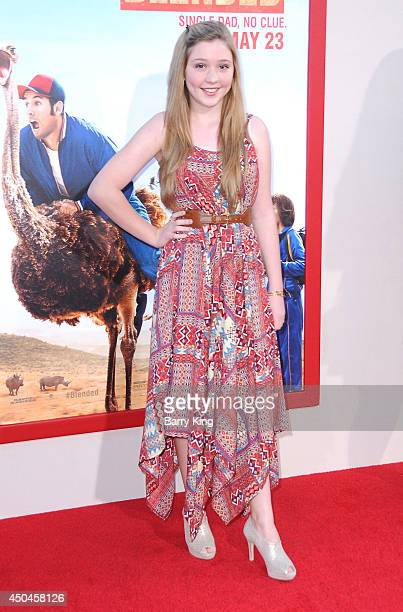 Actress Cozi Zuehlsdorff arrives at the Los Angeles Premiere 'Blended' on May 21 2014 at TCL Chinese Theatre in Hollywood California