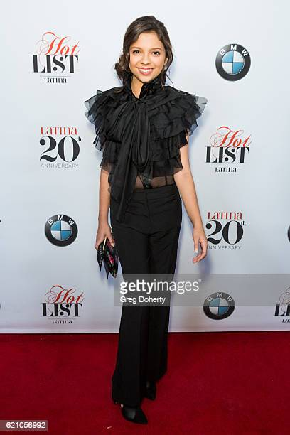 Actress Cree Cicchino arrives for the Latina Magazine's 20th Anniversary Event Celebrating 'Hollywood Hot List' Honorees at STK Los Angeles on...
