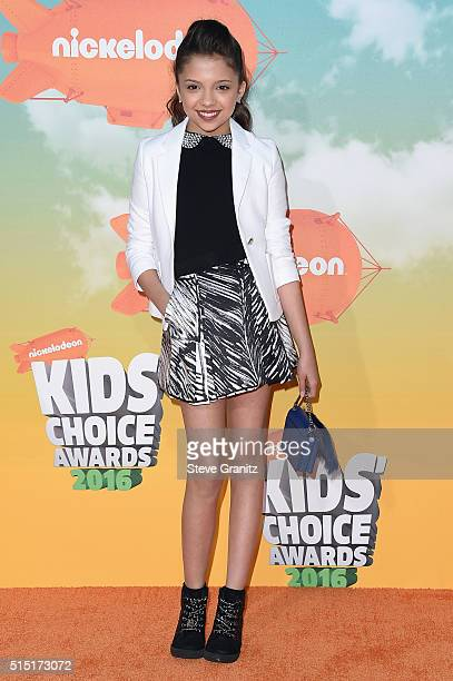 Actress Cree Cicchino attends Nickelodeon's 2016 Kids' Choice Awards at The Forum on March 12 2016 in Inglewood California