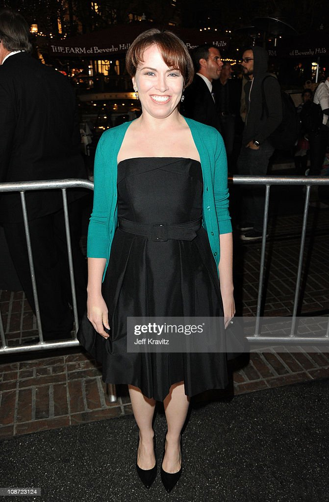 Actress Crista Flanagan arrives at the Los Angeles premiere of 'Waiting for Forever' held at Pacific Theaters at the Grove on February 1, 2011 in Los Angeles, California.