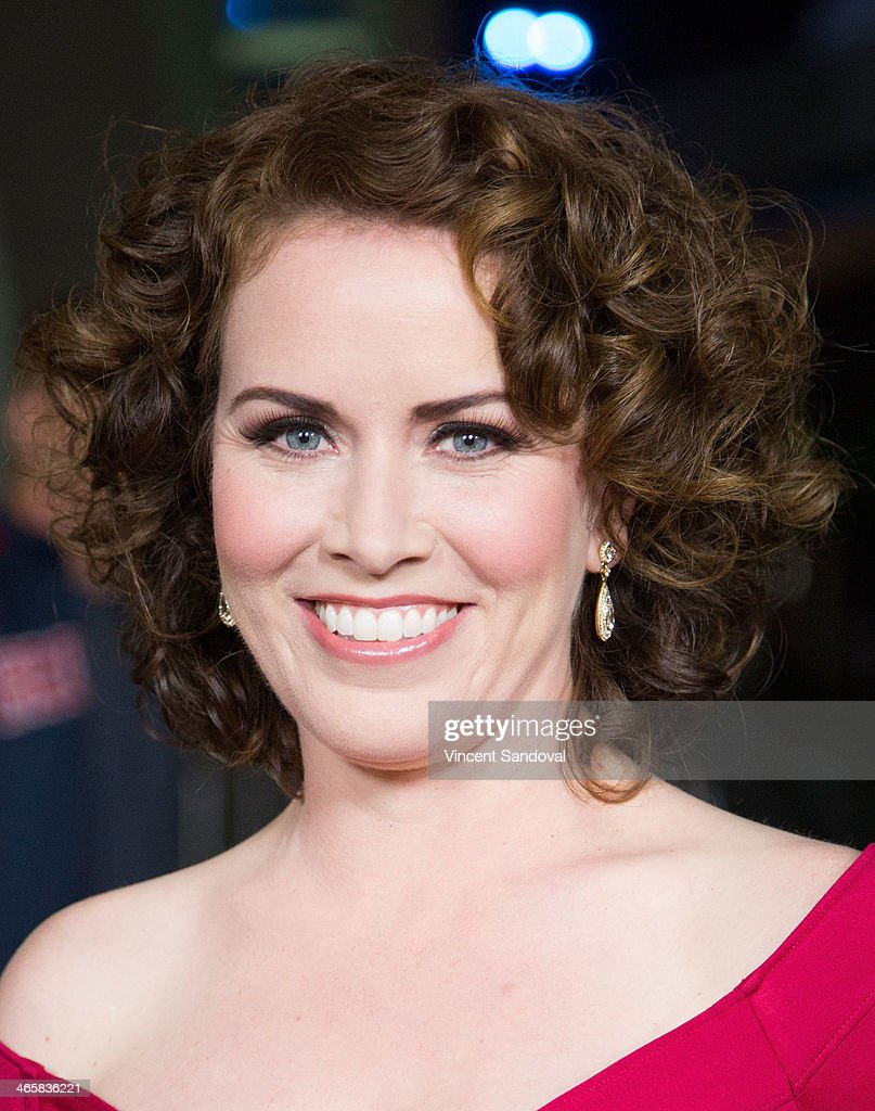 Actress Crista Flanagan attends the Los Angeles Premiere of 'Best Night Ever' at ArcLight Cinemas on January 29, 2014 in Hollywood, California.
