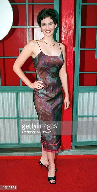 Actress Cristi Harris arrives at the Formosa Cafe for the Murder Mystery kickoff party prior to the Tony Awards Party and prelude to the cracking of...
