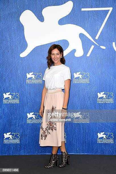 Actress Cristiana Capotondi attends a photocall for 'Tommaso' during the 73rd Venice Film Festival at Palazzo del Casino on September 6 2016 in...