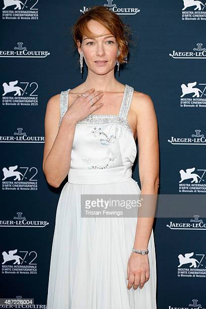 Actress Cristiana Capotondi attends the JaegerLeCoultre gala event celebrating 10 years of partnership with La Mostra Internazionale d'Arte...