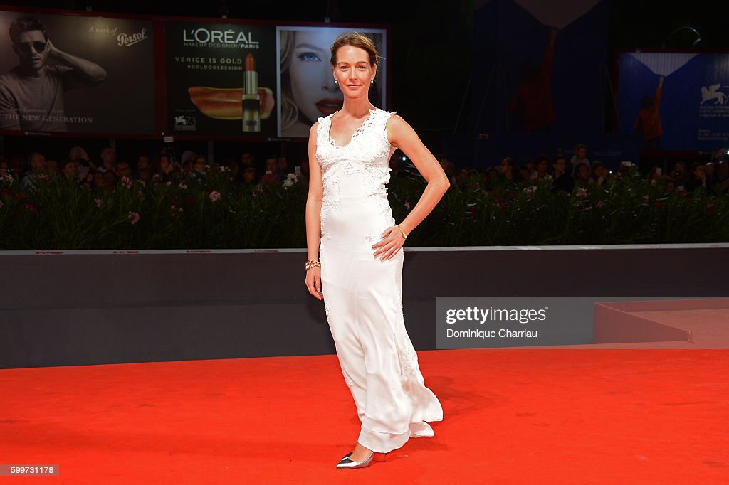 Actress Cristiana Capotondi attends the premiere of 'Tommaso' during the 73rd Venice Film Festival at Sala Grande on September 6, 2016 in Venice, Italy.