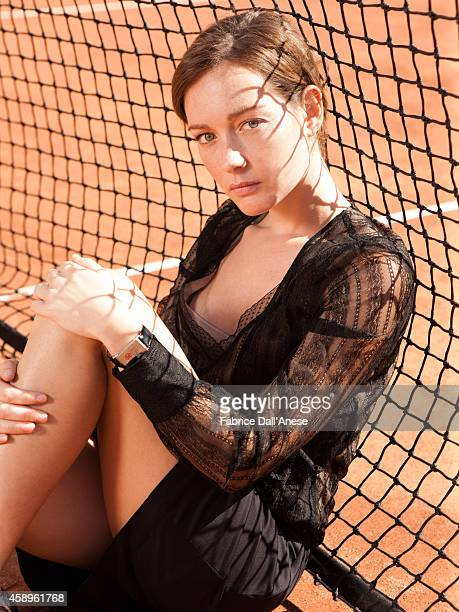 Actress Cristiana Capotondi is photographed for Vanity Fair Italy on September 1 2013 in Venice Italy