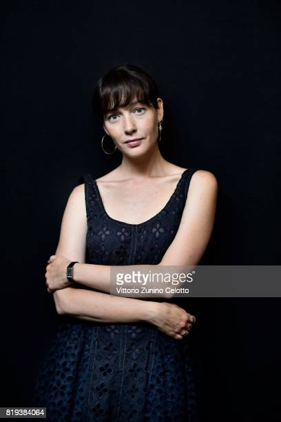 Actress Cristiana Capotondi poses for a portrait session during Giffoni Film Festival on July 19 2017 in Giffoni Valle Piana Italy