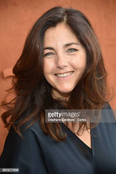 Actress Cristiana Reali attends the 2017 French Tennis Open - Day Nine at Roland Garros on June 5, 2017 in Paris, France.
