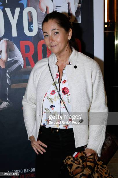 Actress Cristiana Reali attends the 'Un Poyo Rojo' Theater Play celebrates its 10th Anniversary at Theatre Antoine on May 17, 2018 in Paris, France.