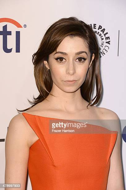 Actress Cristin Milioti arrives at The Paley Center For Media's PaleyFest 2014 Honoring 'How I Met Your Mother' Series Farewell at Dolby Theatre on...