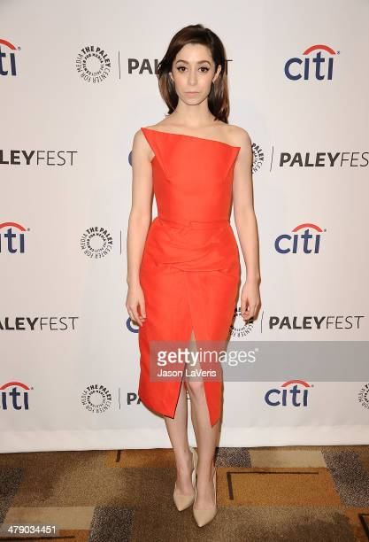 Actress Cristin Milioti attends the 'How I Met Your Mother' series farewell event at the 2014 PaleyFest at Dolby Theatre on March 15 2014 in...