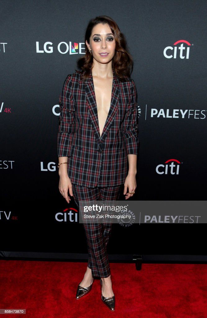 Actress Cristin Milioti attends the PaleyFest NY 2017 'Black Mirror' at The Paley Center for Media on October 6, 2017 in New York City.