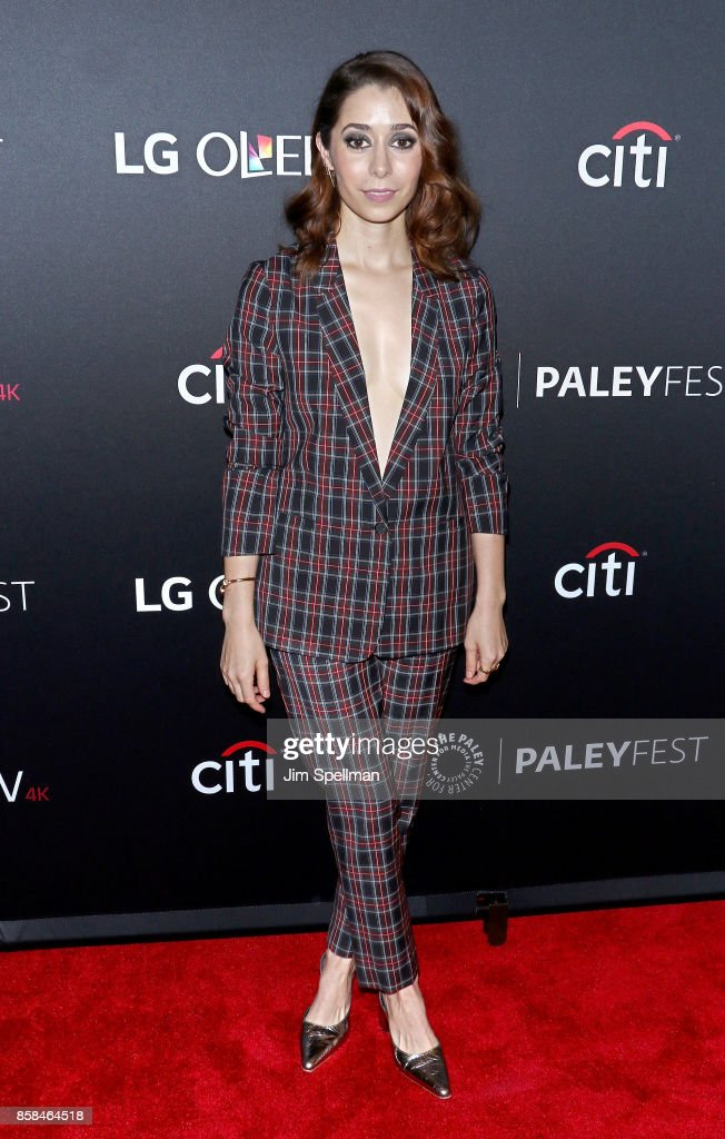 Actress Cristin Milioti attends the PaleyFest NY 2017 'Black Mirror' screening at The Paley Center for Media on October 6, 2017 in New York City.