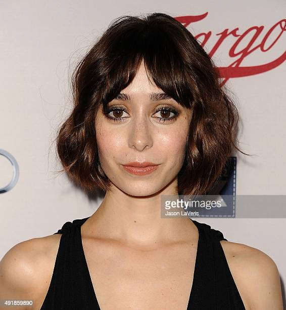 Actress Cristin Milioti attends the premiere of FX's Fargo season 2 at ArcLight Cinemas on October 7 2015 in Hollywood California