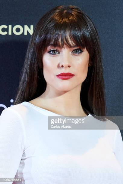 Actress Cristina Abad attends 'Como la Vida Misma' premiere during the Madrid Premiere Week at the Callao cinema on November 12 2018 in Madrid Spain