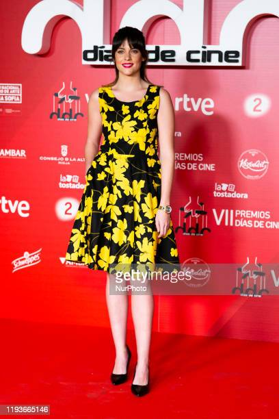 Actress Cristina Abad attends 'Dias de Cine' awards at the Reina Sofia Art Museum on January 14 2020 in Madrid Spain