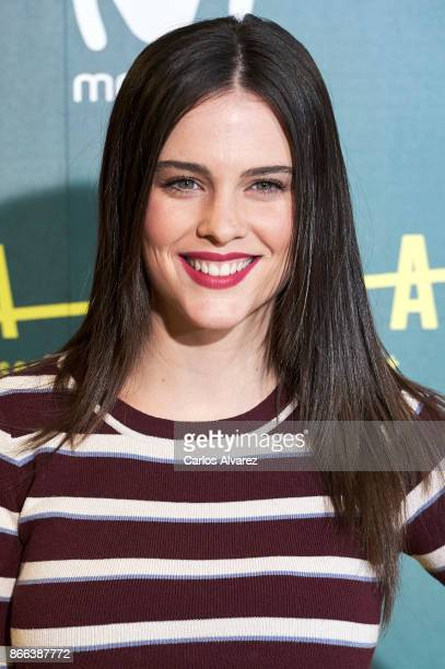Actress Cristina Abad attends 'La Zona' premiere at the Capitol cinema on October 25, 2017 in Madrid, Spain.
