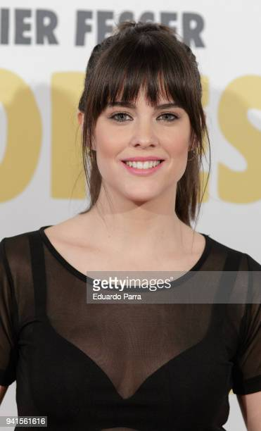 Actress Cristina Abad attends the 'Campeones' premiere at Kinepolis cinema on April 3 2018 in Madrid Spain