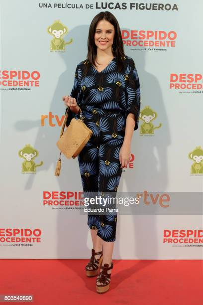 Actress Cristina Abad attends the 'Despido procedente' photocall at Callao cinema on June 29 2017 in Madrid Spain