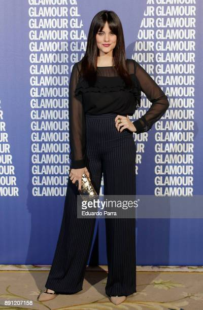 Actress Cristina Abad attends the Glamour Magazine Awards photocall at Ritz hotel on December 12 2017 in Madrid Spain