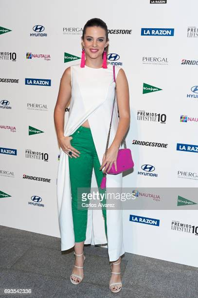 Actress Cristina Abad attends the 'Lifestyle' award 2017 at the Casa Encendida Cultural Center on June 7 2017 in Madrid Spain