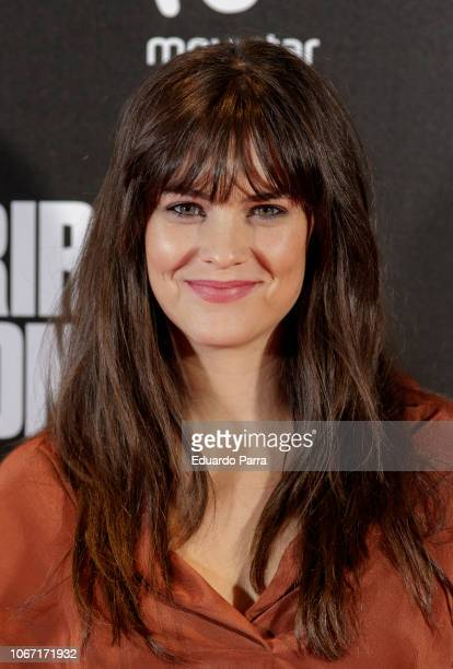 Actress Cristina Abad attends the 'Morir para contar' photocall at Callao cinema on November 13 2018 in Madrid Spain