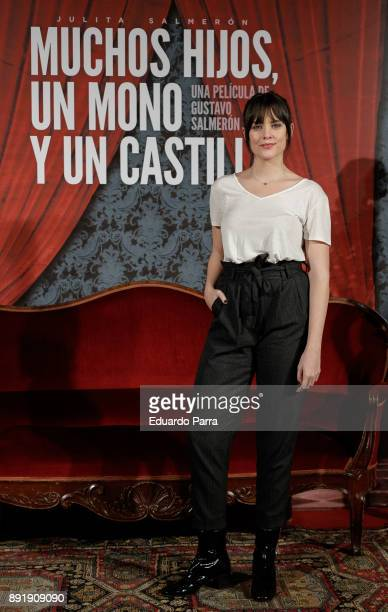 Actress Cristina Abad attends the ''Muchos Hijos Un Mono Y Un Castillo' premiere at Callao cinema on December 13 2017 in Madrid Spain