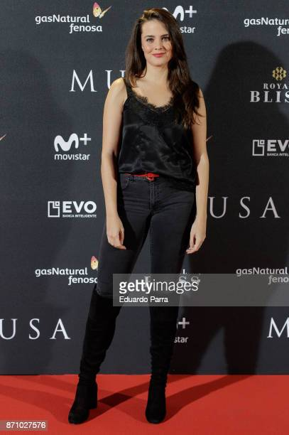 Actress Cristina Abad attends the 'Musa' premiere at Capitol cinema on November 6 2017 in Madrid Spain