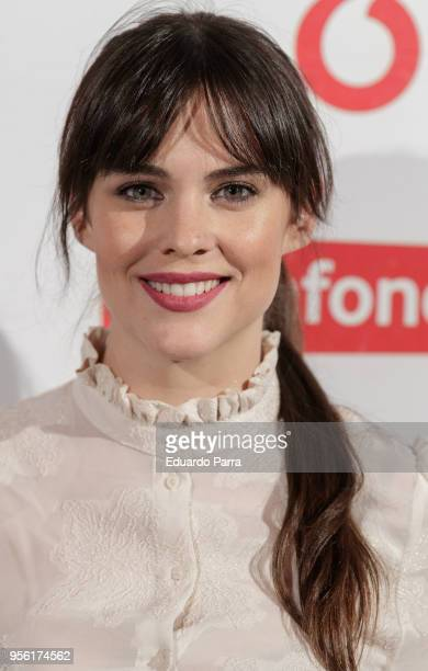 Actress Cristina Abad attends the Pablo Lopez concert photocall at La Riviera disco on May 8 2018 in Madrid Spain