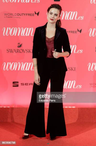 Actress Cristina Abad attends the 'Woman 25th anniversary' photocall at Madrid Casino on October 18 2017 in Madrid Spain