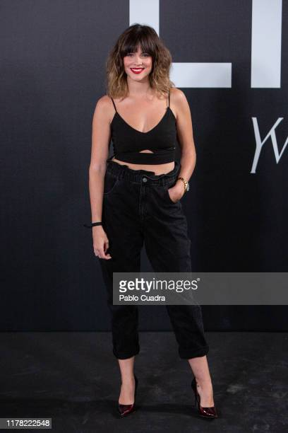 Actress Cristina Abad attends the Yves Saint Laurent fragrance 'Libre' presentation on September 30 2019 in Madrid Spain