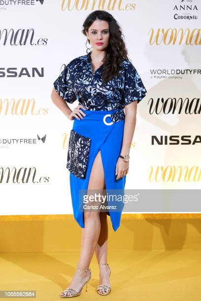 Actress Cristina Abad attends Woman awards 2018 at the Casino de Madrid on October 30 2018 in Madrid Spain