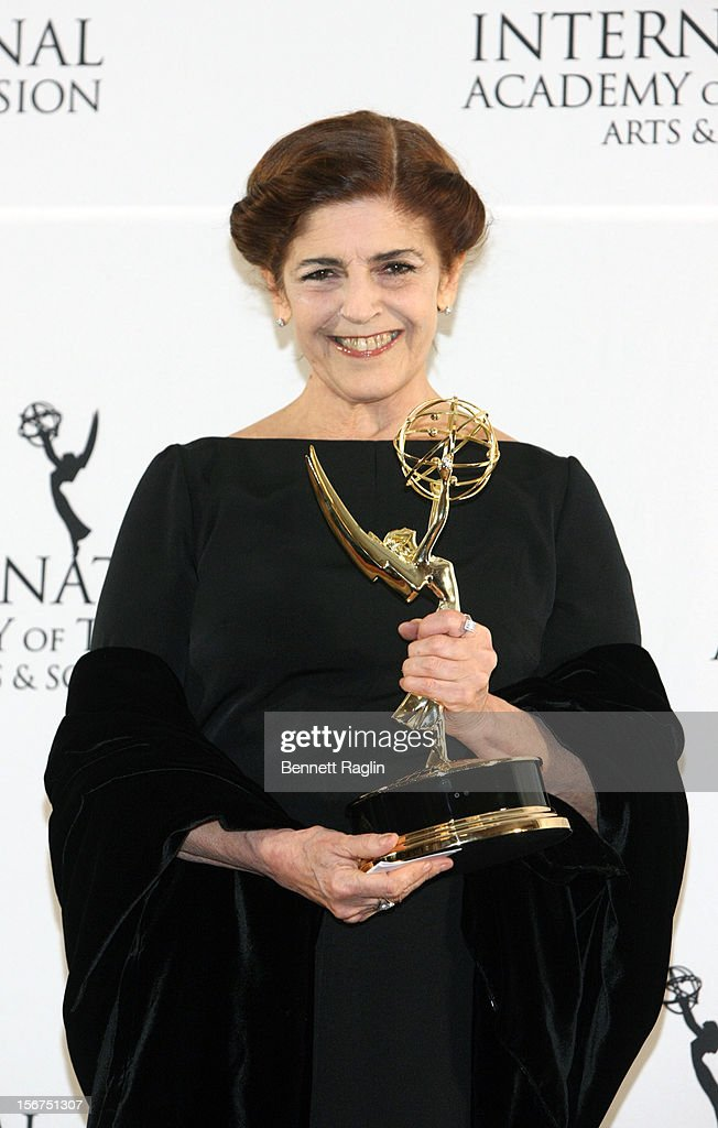 Actress Cristina Banegas attends the 40th Annual International Emmy Awards at the Hilton New York on November 19, 2012 in New York City.