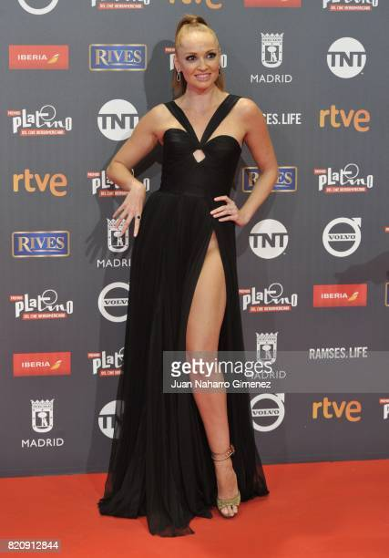Actress Cristina Castano attends the 'Platino Awards 2017' photocall at La Caja Magica on July 22 2017 in Madrid Spain