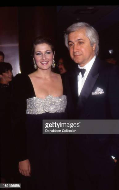 Actress Cristina Ferrare and her husband TV and motion picture exectutive Andy Thompoulos attend an event in September 1987 in Los Angeles California