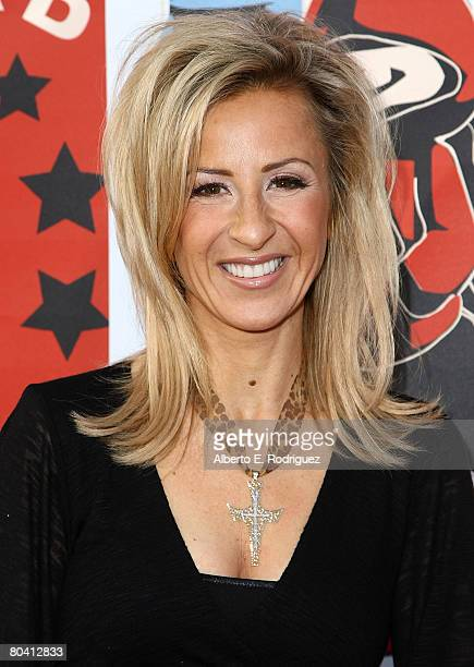 Actress Cristina Perez arrives at the DVD release party and charity concert event for 20th Century Fox's Alvin and the Chipmunks held at the El Rey...
