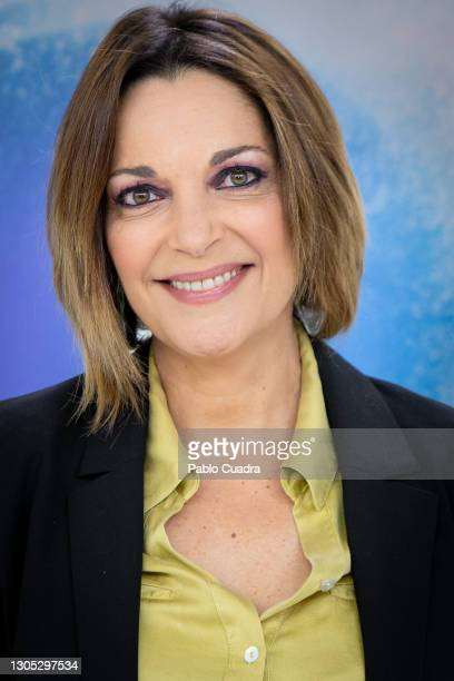 Actress Cristina Plazas attends 'Estoy Vivo' photocall at RTVE on March 04, 2021 in Madrid, Spain.