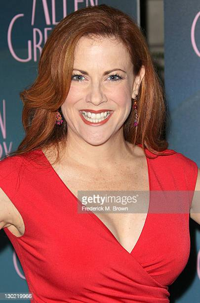 Actress Cristina Pucelli attends the Screening of FOX and 20th Century Fox Television's Allen Gregory at the Smog Shoppe on October 24 2011 in Los...