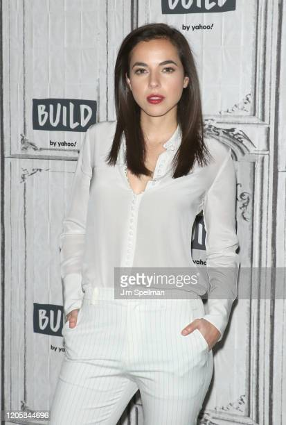 Actress Cristina Rodlo attends the Build Series to discuss 68 Whiskey at Build Studio on February 12 2020 in New York City