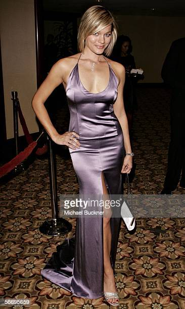 Actress Crystal Allen arrives at the 58th Annual Directors Guild Of America Awards held at Hyatt Regency Century Plaza on January 28 2006 in Los...