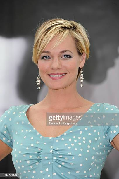 Actress Crystal Allen attends a photocall for 'Crooked Arrows' during the 52nd Monte Carlo TV Festival on June 13 2012 in MonteCarlo Monaco
