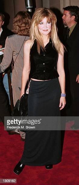 Actress Crystal Bernard arrives at the 24th Annual Los Angeles Free Clinic Dinner at the Regent Beverly Wilshire Hotel December 4 2000 in Beverly...
