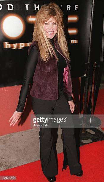 Actress Crystal Bernard arrives at the Knitting Factory for the Hypnoticcom launch party November 29 2000 in Hollywood CA