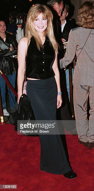 Actress Crystal Bernard arrives for the 24th Annual Los Angeles Free Clinic Dinner at the Regent Beverly Wilshire Hotel December 4 2000 in Beverly...