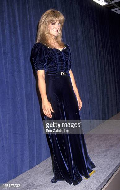 Actress Crystal Bernard attends the 43rd Annual Emmy Awards on August 25 1991 at Pasadena Civic Auditorium in Pasadena California
