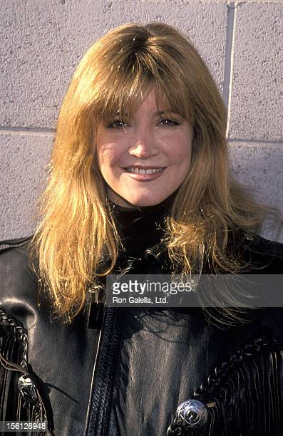 Actress Crystal Bernard attends the 'Love Ride 11' To Benefit Muscular Dystrophy on November 13 1994 at HarleyDavidson of Glendale in Glendale...