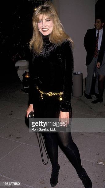 Actress Crystal Bernard attends the 'NBC AllStar Winter Press Tour' on January 8 1994 at the Ritz Carlton Hotel in Pasadena California