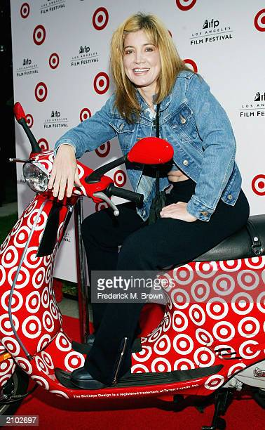 "Actress Crystal Bernard attends the premiere of the film ""Camp"" at the Wadsworth Theater during the closing night gala for the 2003 IFP Los Angeles..."
