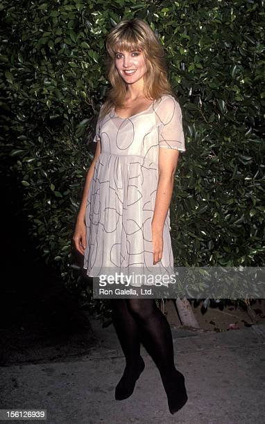 Actress Crystal Bernard attends the Seventh Annual ASCAP Pop Music Awards on May 16 1990 at the Beverly Wilshire Hotel in Beverly Hills California